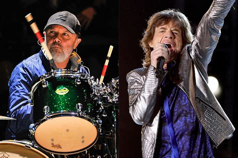 Lars Ulrich Suggests Rolling Stones Saved Metallica From Split