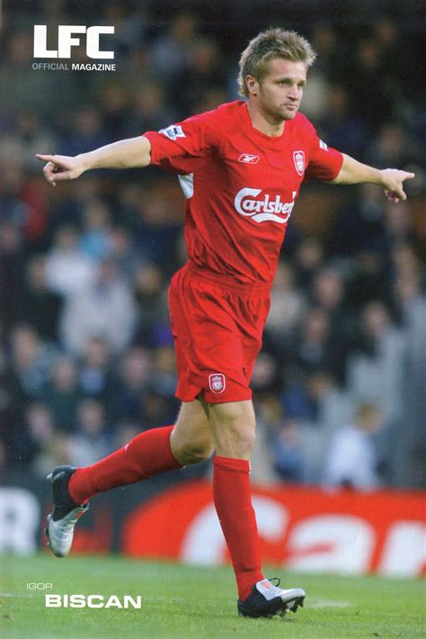 Liverpool career stats for Igor Biscan - LFChistory