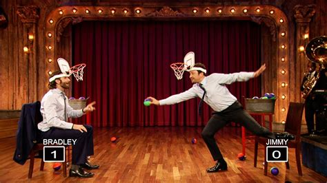 Faceketball with Bradley Cooper and Jimmy Fallon (Late
