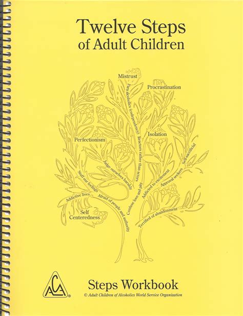 Adult Children of Alcoholics Workbook | My 12 Step Store