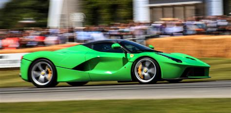Jay Kay's Green LaFerrari and F12 TRS Spyder Cause Deadly