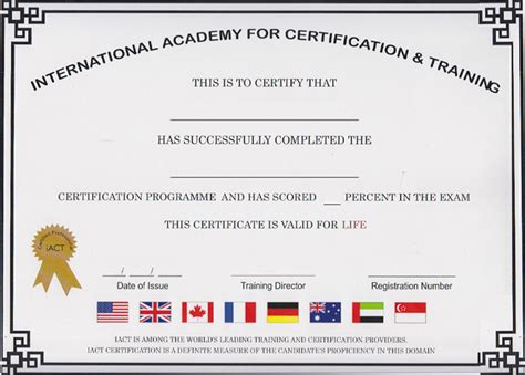 International Academy for Certification and Training