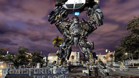 Transformers The Game - Ironhide vs