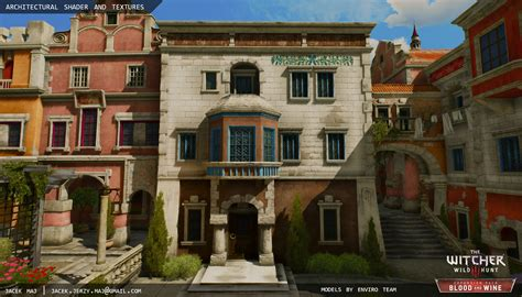 Jacek Maj - The Witcher 3 Architectural Material