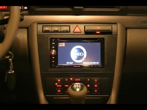 How To Remove And Install A DVD double Din Nav Radio In A