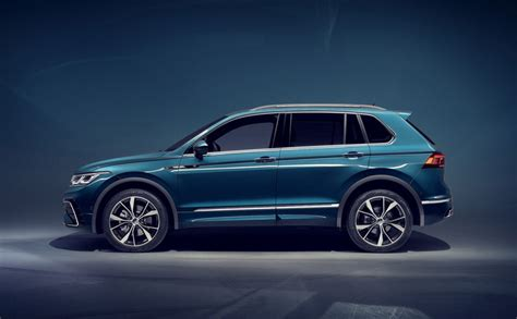 2021 VW Tiguan Facelift Revealed, PHEV and R Version Confirmed