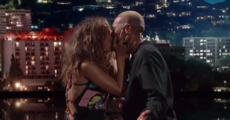 Halle Berry surprises Lena Waithe with a kiss on the lips