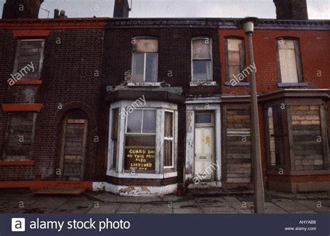 Urban poverty in Bolton in Lancashire in England in Great