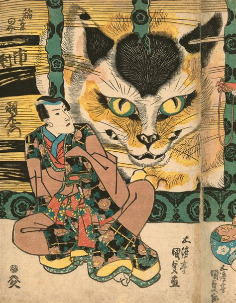 The LOLcats Of Japanese Print Art Have Officially Taken