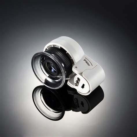 Mini 45X Zoom Magnifying Glass Adjustable Loupe Magnifier