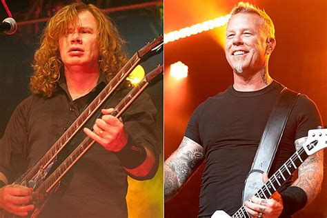 Dave Mustaine Wishes James Hetfield a Happy 51st Birthday