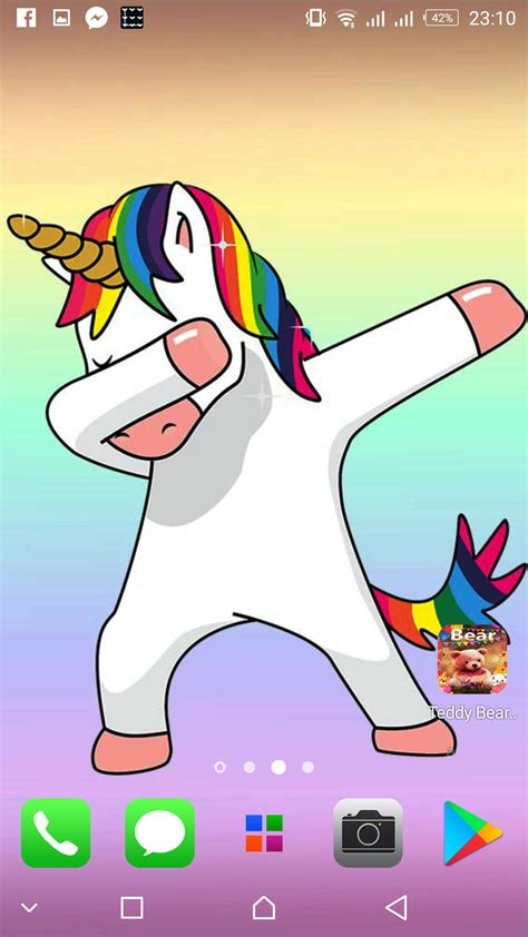 Unicorn Dab wallpapers Cute backgrounds for Android - APK