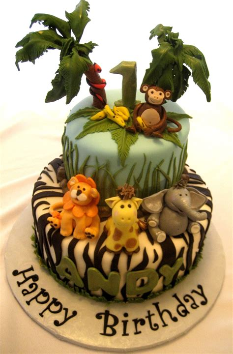 It's A Jungle Out There - CakeCentral