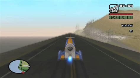 Bloodhound SSC Sonic Boom in GTA San Andreas - YouTube
