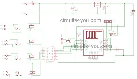 IOT based home automation project | Circuits4you