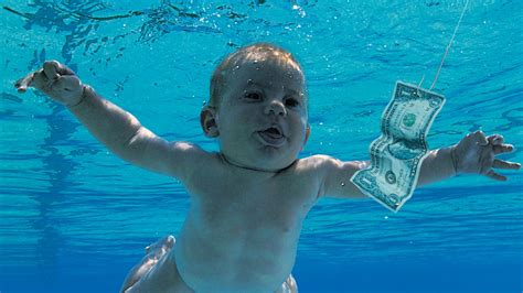 The Baby From Nirvana's 'Nevermind' Album Cover Recreates