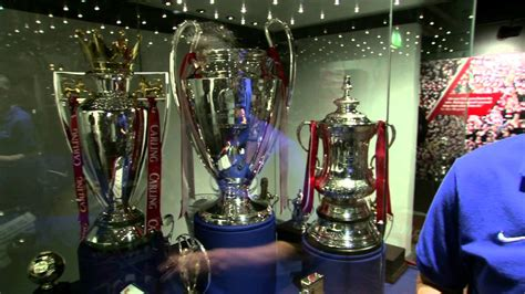 Inside the Manchester United Museum -- It's All About