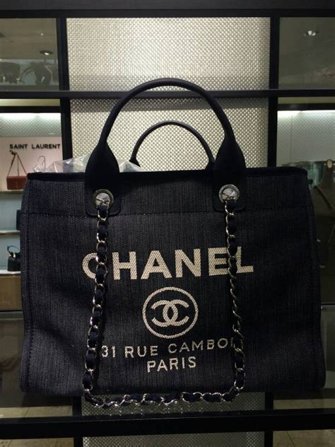 Chanel Deauville Bag available in Messenger style for