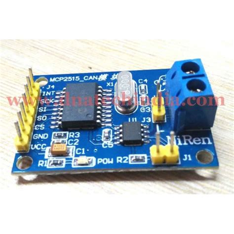 Purchase online MCP2515 CAN BUS Module Board in India at
